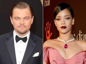 Rihanna and Lionardo Dicaprio