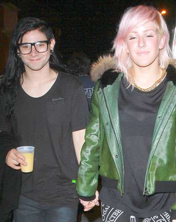Skrillex relation