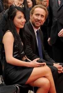 Nicolas Cage Wife 2015 Alice Kim Pics Son