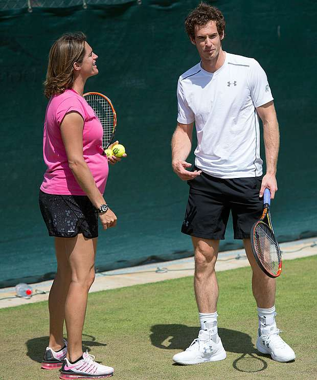 Amelie Mauresmo relation