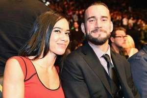 AJ Lee Married to Husband CM Punk Wife
