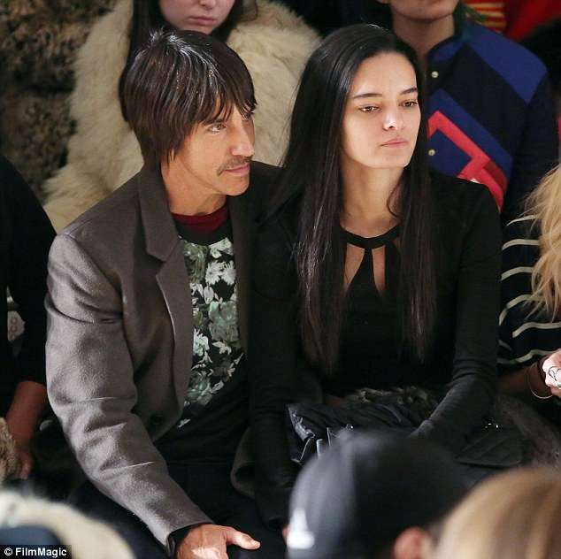Anthony Kiedis relation