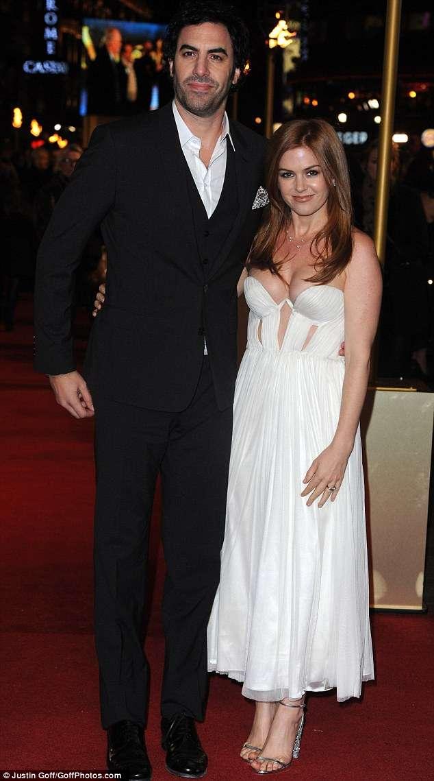 Isla Fisher & Sacha Baron Cohen