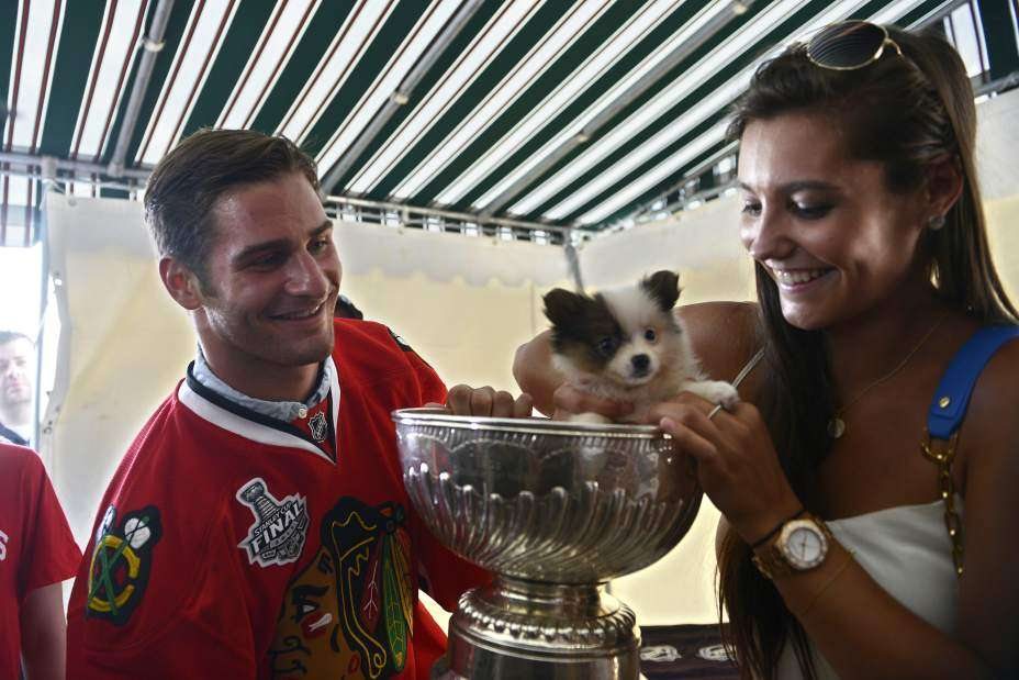 Brandon Saad relation