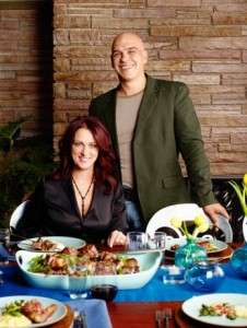 Chef Michael Symon Wife Liz Shanahan is Married Family Does he have Kids