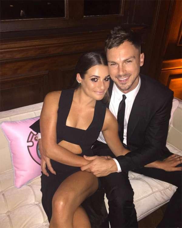 Lea Michele relation