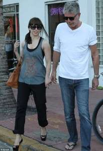 Anthony Bourdain Wife Married MMA Ottavia Busia Age Difference