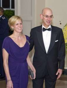 Adam Silver Girlfriend Wife Who is NBA Commissioner Married