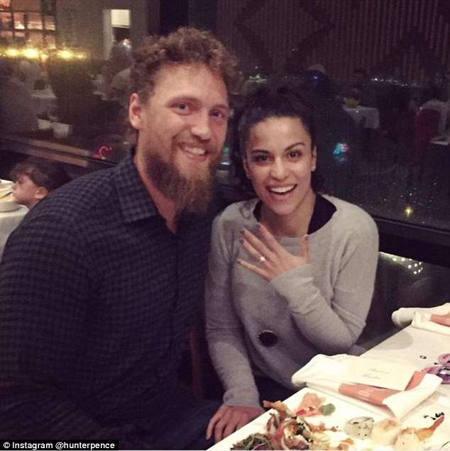 Hunter Pence relation