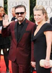 Who is Ricky Gervais Girlfriend 2019 Wife Married Partner Split