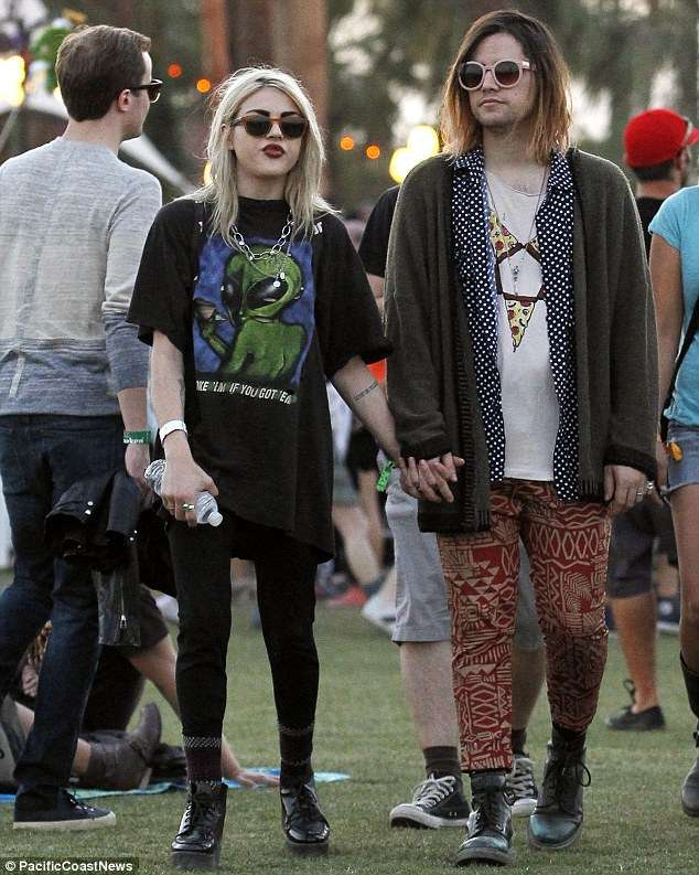 Frances Bean Cobain relation