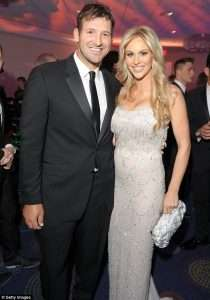 Tony Romo Girlfriend 2021 Wife Is Married to Who