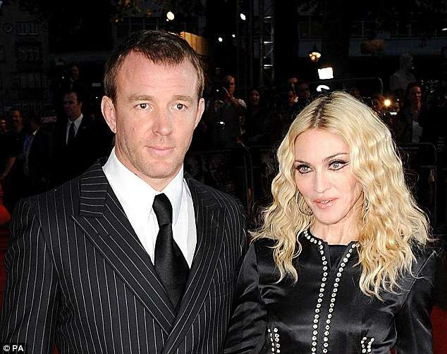 Ritchie and Madonna