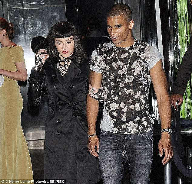 Madonna with new relation