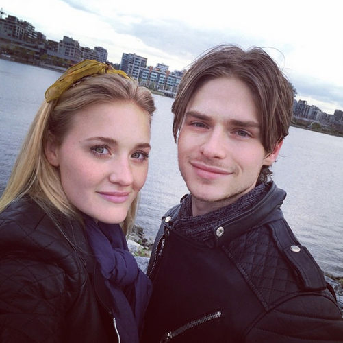Michalka and Tracey