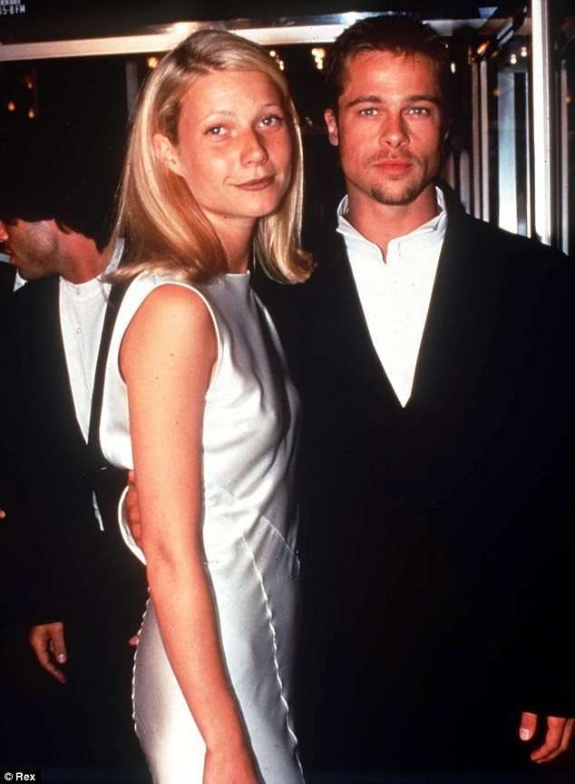 Brad and Paltrow