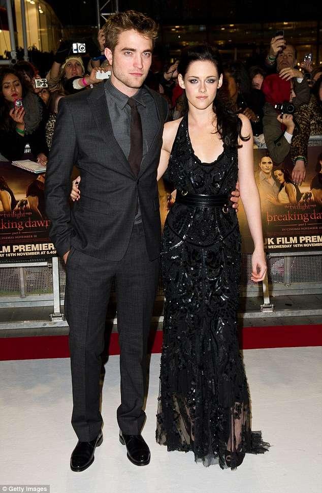 Pattinson and Kristen