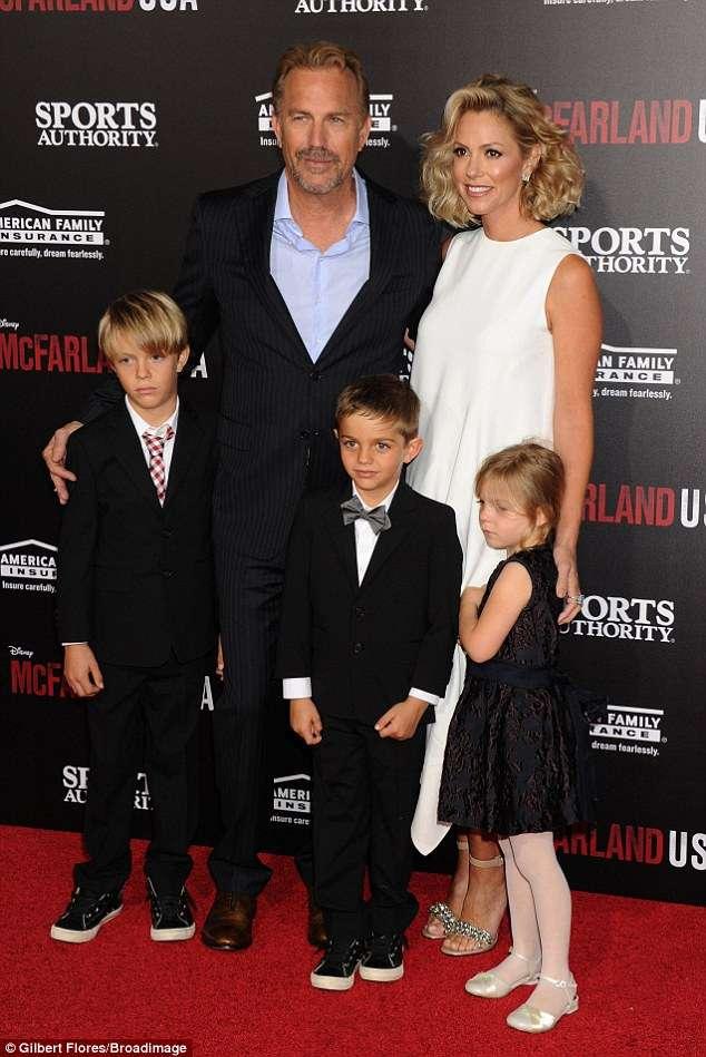 Kevin Costner and Christine together