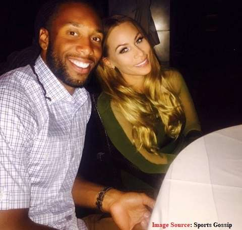 Larry Fitzgerald and his gf