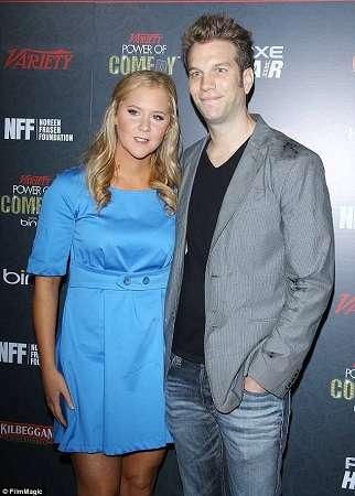 Anthony Jeselnik and his ex Amy